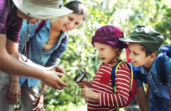 Balade en famille en forêt de Marchiennes