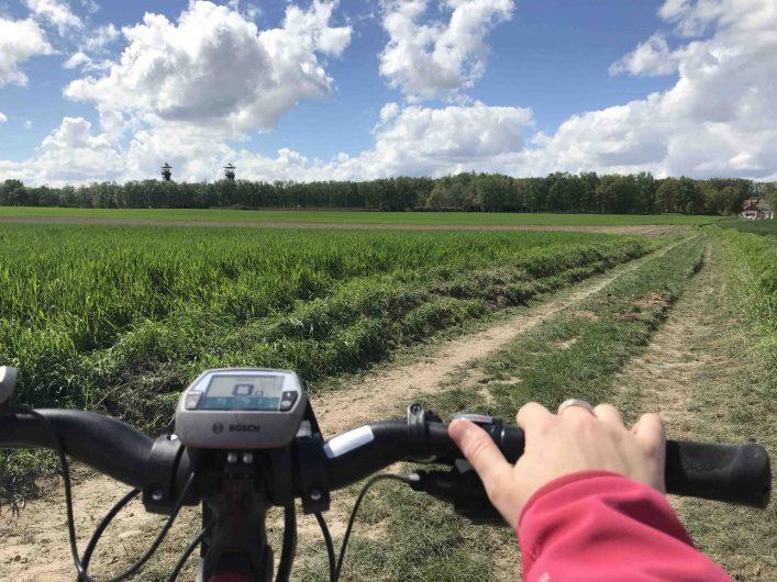 Balade à vélo proche du Centre Historique Minier - ©Marie Petit
