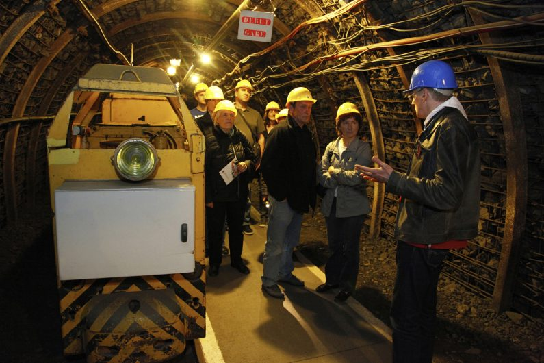 Galerie de mine du Centre Historique Minier de Lewarde ©E. Watteau