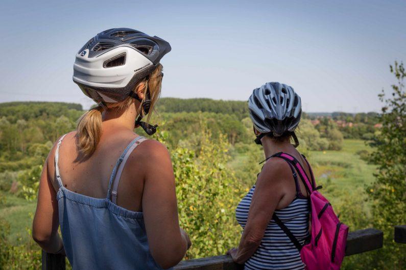 Pause nature à vélo - ©Karen Saint-Patrice