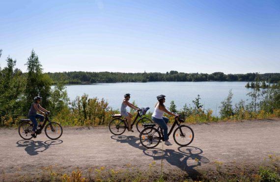 Le terril de Pecquencourt-Rieulay à vélo