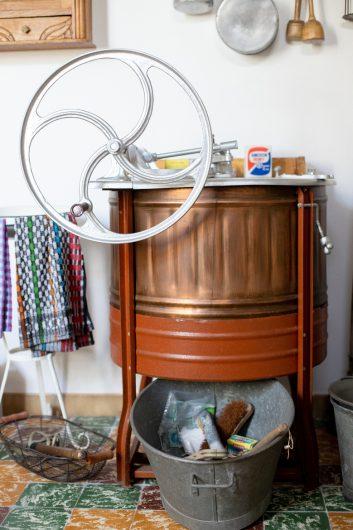 Machine à lavée manuelle du 19e siècle ©Karen Saint-Patrice
