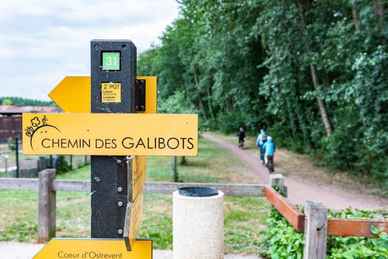 Panneau chemin des Galibots - ©Franck Bürjes