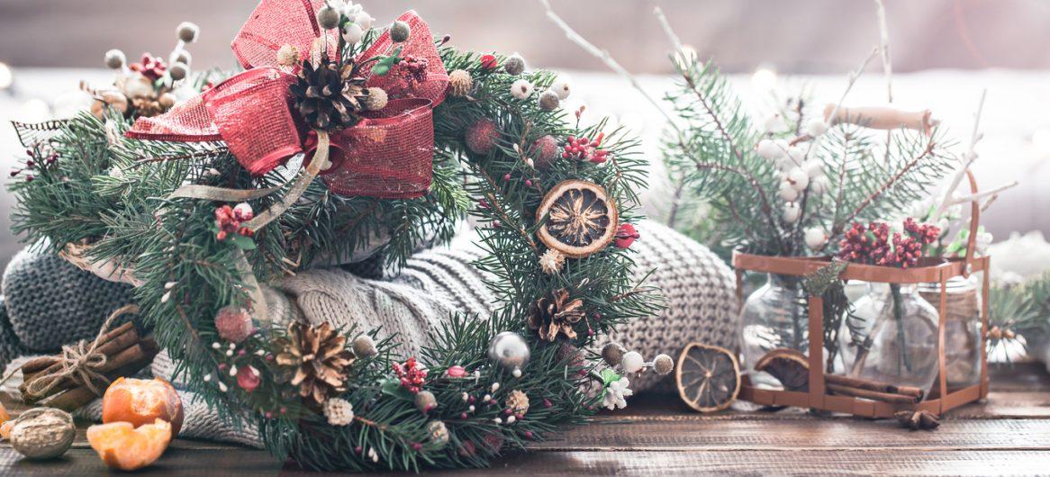 Décorations de Noël naturelle
