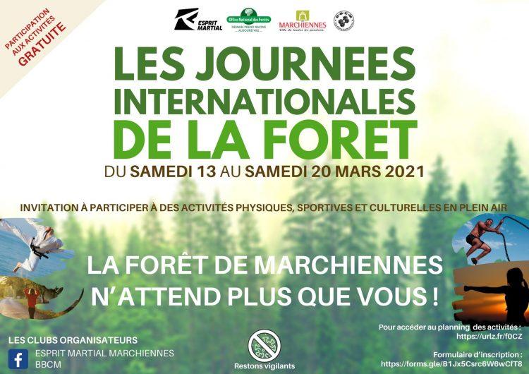 Les journées internationales de la forêt