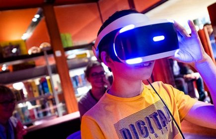Jeux vidéo en réalité virtuelle
